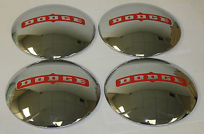 1946-1950 Dodge Hubcaps Brand New Reproduction
