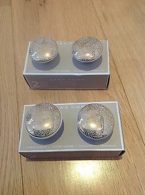 Zara Home White and Gold Door Knobs