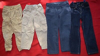 Lot of 3 boys Pants Old Navy, Children's Place, and Gap size 4 & 5