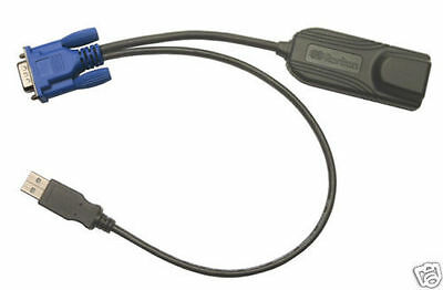 Raritan Dominion KX DCIM-SUSB SUN System Server CIM KVM Switch Module Cable CIM