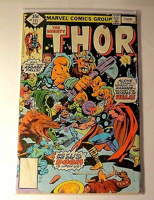 The Mighty Thor #277 Marvel Bronze Age  CB 1755