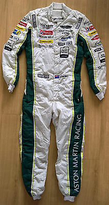 2016 ASTON MARTIN RACING TOTAL RICHIE STANAWAY SPARCO RACE SUIT FiA 8856-2000