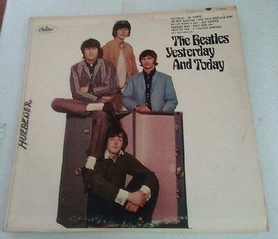 THE BEATLES YESTERDAY AND TODAY 2nd STATE BUTCHER COVER UNPEELED SCRANTON RIAA 3