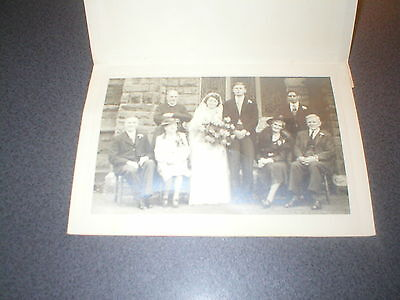 Vintage Black and White Photo of family from Moseley Birmingham Moreland
