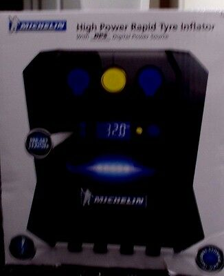 Michelin High Power Rapid Tyre Inflator 12v 12266 - BRAND NEW & UNUSED