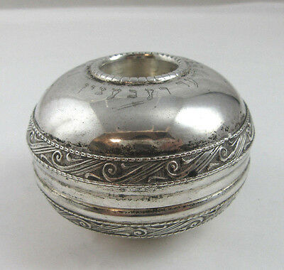 Travel Set Candle holders Sterling silver 925 Weight 48 Height 1 1/2