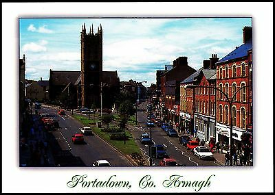 Lovely View Of Portadown  Co Armagh By J Hinde  2Ni-350