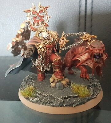 Mighty lord of khorne - age of sigmar starter set - painted Warhammer Chaos