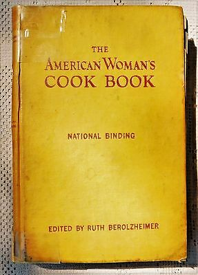 Vintage 1946 Edition - The American Woman's Cook Book - Illustrated