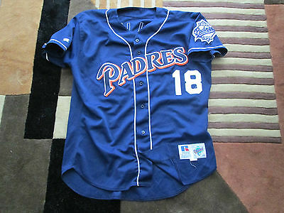 MLB San Diego Padres Woody Williams Game worn Jersey