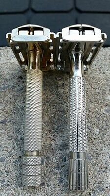 Gillette Razors Rockets x 2 Gold Rocket & Flare End Rocket Double Rockets!