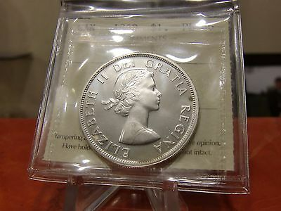 1960 Silver Dollar Iccs Graded Pl66 Cameo! Blast White.**no Tax & Free Shipping*