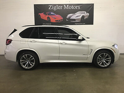 2014 BMW X5  2014 BMW X5 5.0 M Package Mineral White One owner Clean Carfax