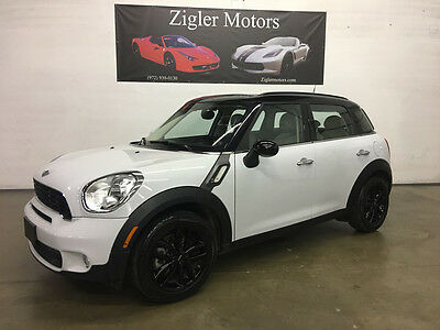 2014 Mini Countryman S Hatchback 4-Door 2014 Mini Cooper Countryman S Light White,One Owner Clean Carfax