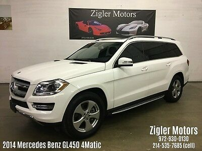 2014 Mercedes-Benz GL-Class Base Sport Utility 4-Door 2014 Mercedes GL450 Matic Polar White,One Owner,Clean CarFax,Perfect service