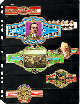 Cigar Bands... (Various Large Size)...all Different (Lot 0668)