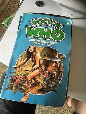 Doctor Who and the Face of Evil by Terrance Dicks (Paperback, 1978)