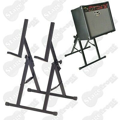 Amplifier Stand Heavy Duty Angled Amp Stand. Multi-Position *brand New*