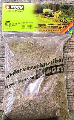SCATTER MATERIAL - BROWN EARTH by NOCH # 08441 suit model train, diorama