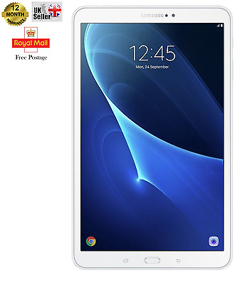 Samsung Tab A 10.1 Inch 1.6GHz 2GB 16GB Wi-Fi  Android 6.0 Tablet - White