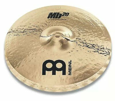 Meinl MB20 14 inch Heavy Soundwave Hihats Cymbals - Brilliant