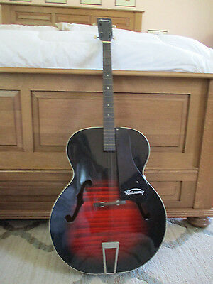 Vintage 1963 Harmony Archtop 4-String Acoustic Guitar H950 - S-63R