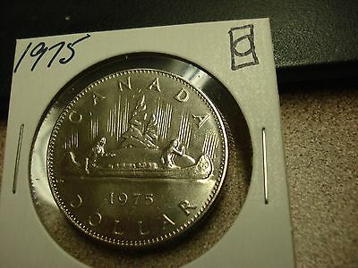 1975 - Canada - Uncirculated $1 dollar coin - Canadian dollar