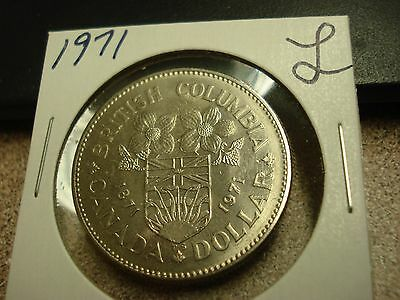 1971 - Canada - Uncirculated $1 dollar coin - Canadian dollar