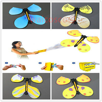 Magic Flying Butterfly Prank For Birthday, Anniversary, Wedding Card Gift Joke