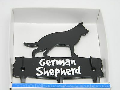 German Shepherd Leash Hook Hanger Metal Dog Pet Wall Key Hat Cap