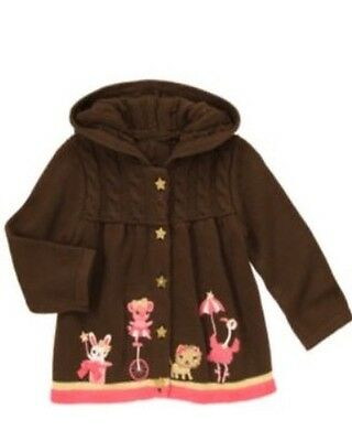 Gymboree Star of the Show 2-18 mo Circus Cardigan Sweater 2013
