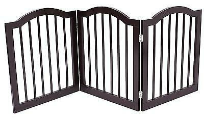 Internet s Best Dog Gate with Arched Top 61 CM Standard Height, 3 Panel...