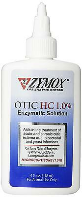 Pet King Brand Zymox Otic Enzymatic Solution for Ears, 4 Ounces