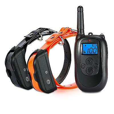 ALTMAN Dog Shock Collar Remote Training with Rechargeable and Waterproof 330...