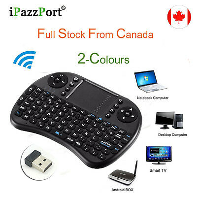 I8 Fly Air Mouse 2.4GHz Wireless Keyboard Smart Remote Control For Android Tv Bo