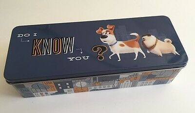 THE SECRET OF LIFE PETS - Pencil Case - BRAND NEW - Rare Item Just the ticket