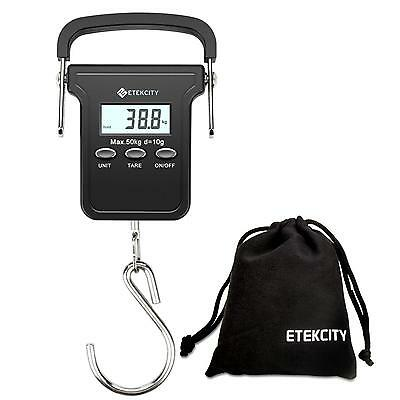 Etekcity Digital Portable Luggage Hanging Fishing Scale 50kg 110lbs...