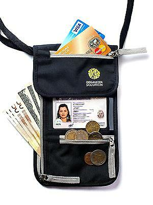 Passport Holder by Organizer Solution, Travel Wallet with Rfid, Neck Pouch...
