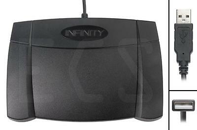 Infinity Foot Control Pedal IN USB 2 for transcription