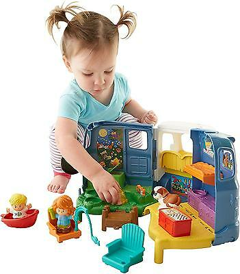 Fisher Price Little People Songs and Sounds Camper