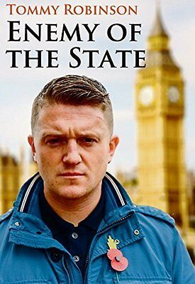 Tommy Robinson Enemy Of The State Paperback Brand New 9780957096493