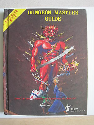 vintage Dungeons & Dragons 1979 revised Dungeon Masters Guide AD&D