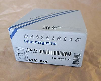 Hasselblad A12 Film Back 30212 Magazine Holder 120 A 12 6x6
