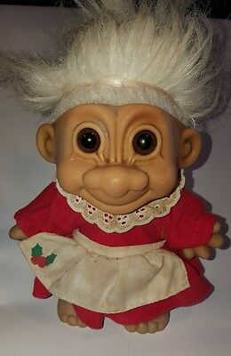 RUSS Troll Doll Vintage 18cm Collectable
