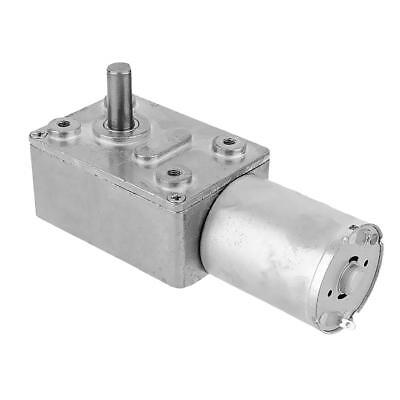 Durable DC12V 100RPM High Torque Turbine Worm Gear Box Reduction Motor Metal