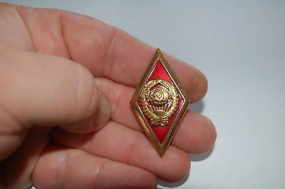 Russian Graduation Badge Military Univercity