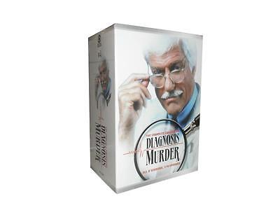 Diagnosis Murder: The Complete Collection Seasons 1-8  (DVD, 2016, 32-Disc Set)