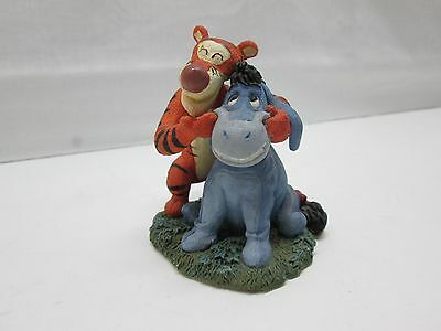 """Simply Pooh """"So This Is What Smiling Feels Like"""" Figurine Tigger & Eeyore"""