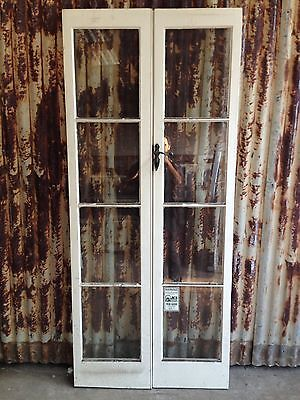 Solid Timber French Doors With Four Panels Of Glass 895w X 2050h X 35d