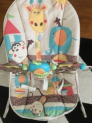 Fisher Price Vibrations Bouncer/Rocker